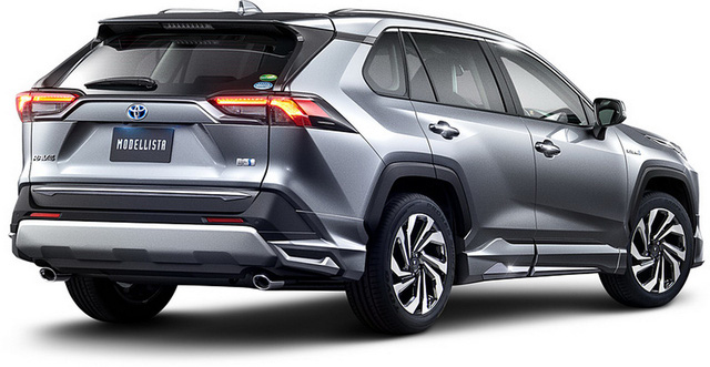 Toyota đồng loạt tung cấu hình TRD thể thao, Modellista hoang dã cho RAV4 - Ảnh 12.