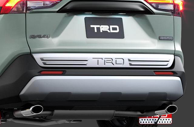 Toyota đồng loạt tung cấu hình TRD thể thao, Modellista hoang dã cho RAV4 - Ảnh 6.