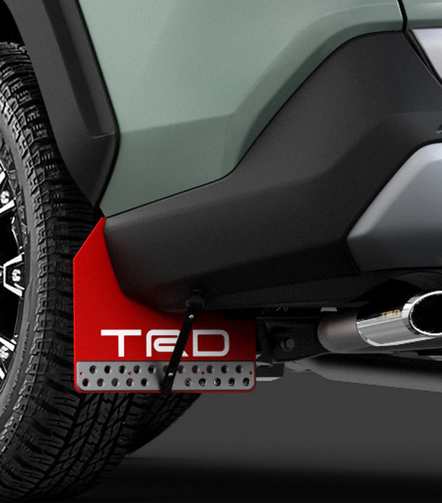 Toyota đồng loạt tung cấu hình TRD thể thao, Modellista hoang dã cho RAV4 - Ảnh 9.