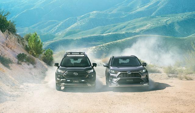 Toyota đồng loạt tung cấu hình TRD thể thao, Modellista hoang dã cho RAV4 - Ảnh 1.
