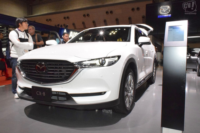 Hot: THACO tiết lộ thông số Mazda CX-8, chốt thời điểm bán để đấu Hyundai Santa Fe - Ảnh 1.