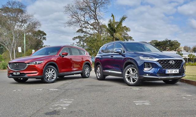 Giá từ hơn 1,1 tỷ đồng, Mazda CX-8 có gì cạnh tranh Hyundai Santa Fe khi mở bán trong thời gian tới? - Ảnh 1.