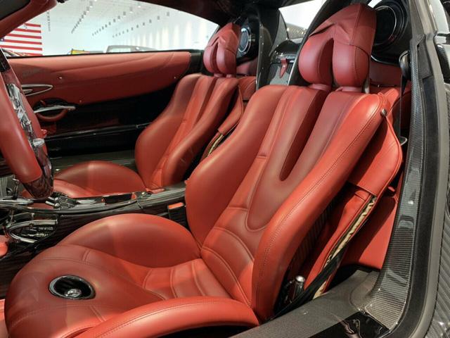 Xe cũ cho 0,1% người dùng: Pagani Huayra Roadster chạy lướt 128km giá nuột chỉ chưa đến 4 triệu USD - Ảnh 5.