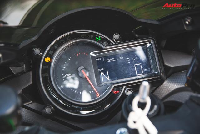 Soi kĩ 'siêu mô tô' Kawasaki H2 giá ngang Toyota Camry đầu tiên tại Hà Nội - Ảnh 12.
