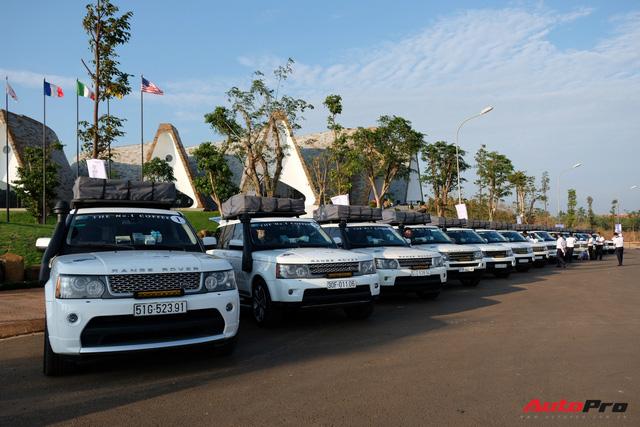 Trực tiếp: Dàn Range Rover của Trung Nguyên chính thức lên đường xuyên Việt, bắt đầu Hành trình từ trái tim 2019 - Ảnh 5.
