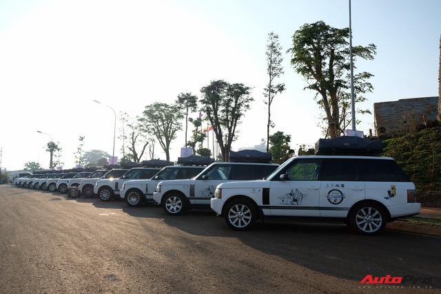 Trực tiếp: Dàn Range Rover của Trung Nguyên chính thức lên đường xuyên Việt, bắt đầu Hành trình từ trái tim 2019 - Ảnh 9.