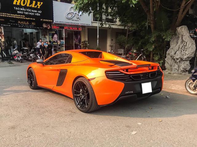 Siêu xe McLaren 650S Spider xuất hiện tại Hà Nội với chi tiết dễ gây nhầm lẫn với một chiếc nổi tiếng khác - Ảnh 3.