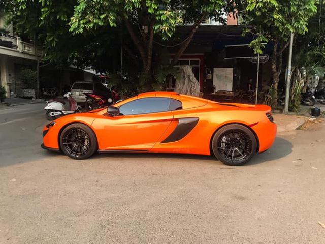 Siêu xe McLaren 650S Spider xuất hiện tại Hà Nội với chi tiết dễ gây nhầm lẫn với một chiếc nổi tiếng khác - Ảnh 2.