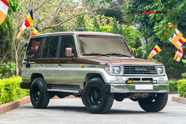 Đánh giá nhanh Land Cruiser Prado 1991: nhiều điều thú vị sau mức giá 415 triệu đồng - Ảnh 4.
