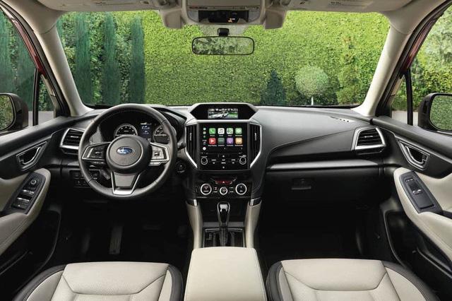 Chênh 200 triệu, Subaru Forester nhập Thái hơn thua gì so với Mazda CX-5 và Honda CR-V? - Ảnh 4.