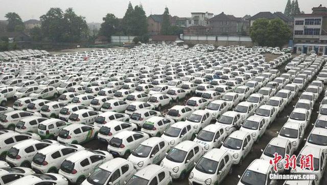 """Hàng trăm xe điện Trung Quốc bị """"xếp xó"""" và lý do phía sau - Ảnh 3."""