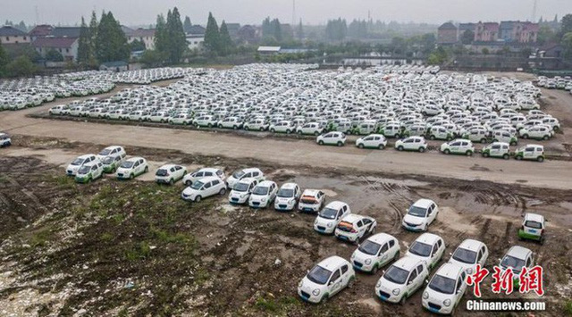 """Hàng trăm xe điện Trung Quốc bị """"xếp xó"""" và lý do phía sau - Ảnh 4."""