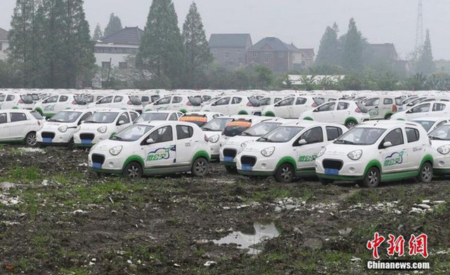 """Hàng trăm xe điện Trung Quốc bị """"xếp xó"""" và lý do phía sau - Ảnh 5."""