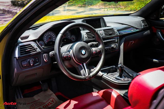 BMW M4 đời 2016 nhập Đức gắn nhiều đồ chơi rao bán giá 3,2 tỷ đồng - Ảnh 10.