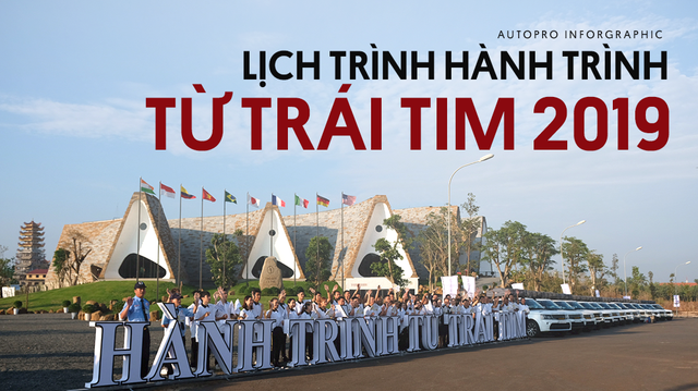 Những địa điểm mà đoàn Range Rover của Trung Nguyên dừng chân trong 22 ngày xuyên Việt