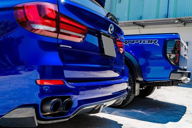 Dân chơi Bạc Liêu chi 1 tỷ đồng biến hóa BMW X5, ghép cặp với Ford Ranger Raptor - Ảnh 14.