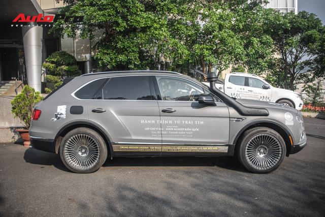 Bentley Bentayga gắn ống thở bất ngờ xuất hiện trong đoàn xe Hành trình từ trái tim 2019 - Ảnh 7.