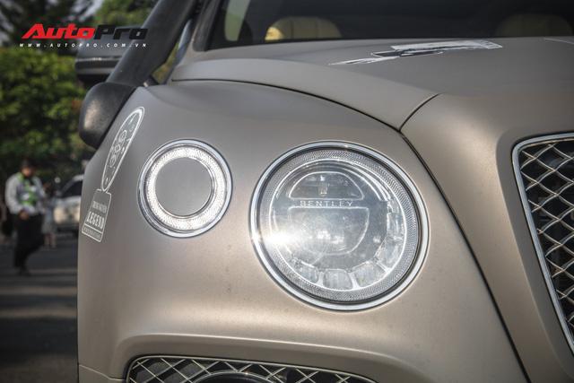Bentley Bentayga gắn ống thở bất ngờ xuất hiện trong đoàn xe Hành trình từ trái tim 2019 - Ảnh 5.