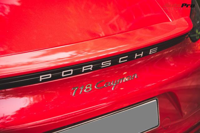 Đại gia Hà Nội chi cả chục triệu đồng chỉ để thay đổi một chi tiết nhỏ trên Porsche 718 Cayman mà ít ai ngờ tới - Ảnh 9.