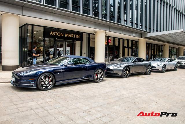 Loạt xế tiền tỷ Aston Martin của đại gia Việt nối đuôi nhau đi bảo dưỡng tại Sài Gòn - Ảnh 10.