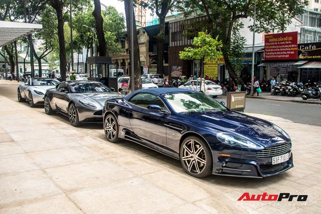 Loạt xế tiền tỷ Aston Martin của đại gia Việt nối đuôi nhau đi bảo dưỡng tại Sài Gòn - Ảnh 4.