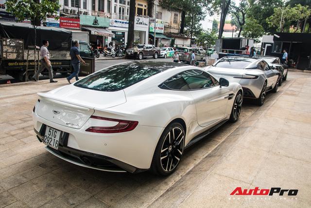 Loạt xế tiền tỷ Aston Martin của đại gia Việt nối đuôi nhau đi bảo dưỡng tại Sài Gòn - Ảnh 7.