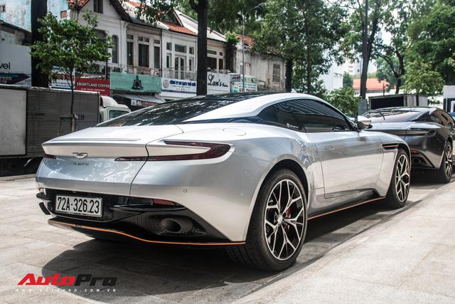 Aston Martin DB11 V8 của đại gia Vũng Tàu ra biển số gánh, tái xuất với diện mạo mới - Ảnh 10.