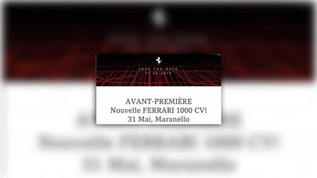 Ferrari lộ thông số khủng khiếp của siêu xe mới: Gần 1.000 mã lực! - Ảnh 1.