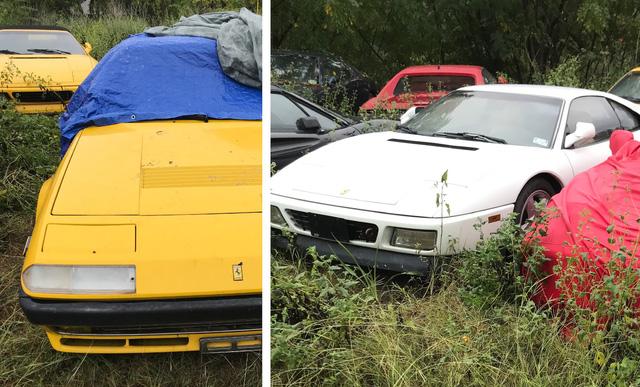 Câu chuyện gây tăng xông đằng sau bãi đỗ hoang nơi Ferrari chất đống không người chăm sóc - Ảnh 1.