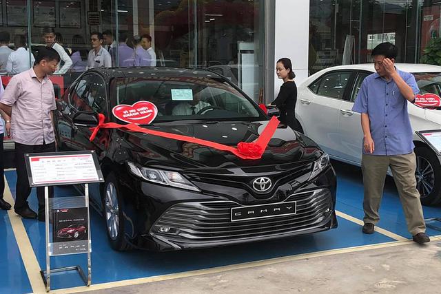 Toyota bị THACO và Hyundai Thành Công lật đổ ngôi vua thị phần sau tháng lên đỉnh - Ảnh 1.