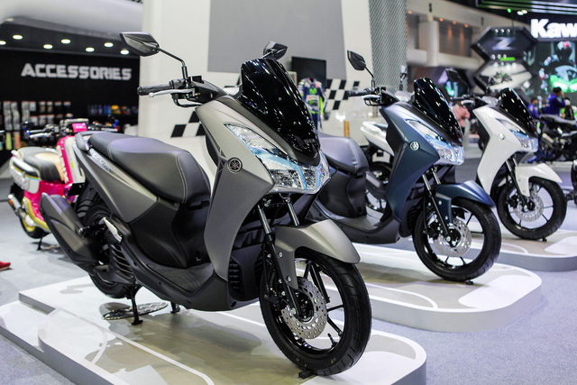 Yamaha Lexi chuẩn bị ra mắt tại Việt Nam vào ngày 18/5 tới đây? - Ảnh 1.