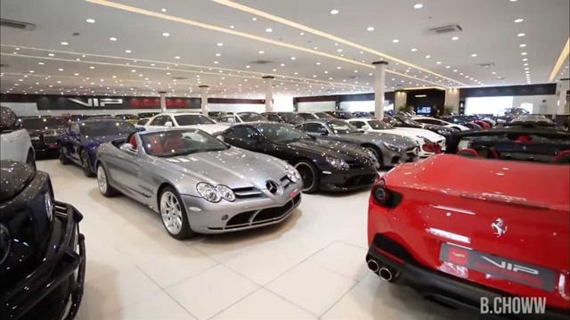 Đại lý siêu xe chất nhất thế giới tại Dubai: Bạt ngàn xe khủng, trưng bày nhiều như Kia Morning