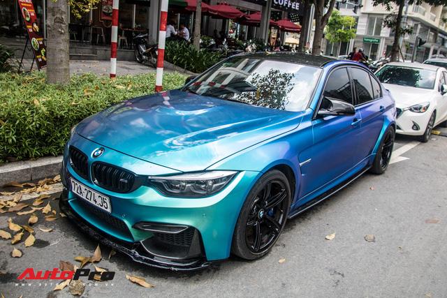 Đổi chủ, BMW M3 từng của đại gia chơi siêu xe Vũng Tàu chơi lớn bằng cách đổi màu độc đáo - Ảnh 6.