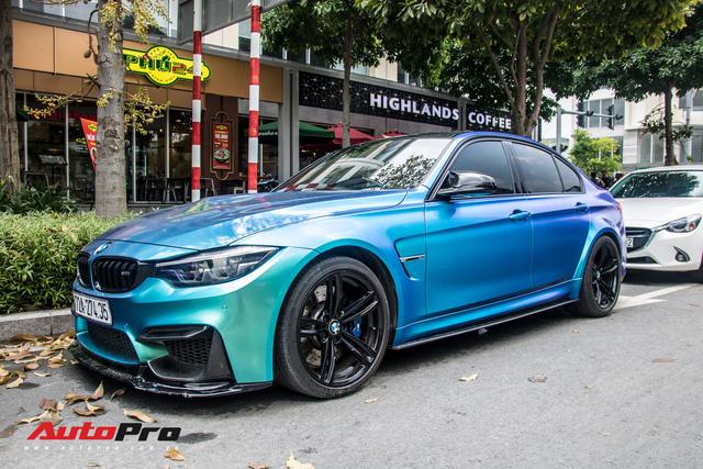 Đổi chủ, BMW M3 từng của đại gia chơi siêu xe Vũng Tàu chơi lớn bằng cách đổi màu độc đáo - Ảnh 1.