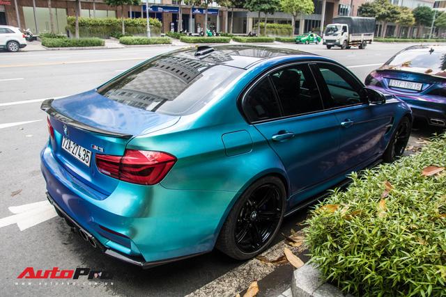 Đổi chủ, BMW M3 từng của đại gia chơi siêu xe Vũng Tàu chơi lớn bằng cách đổi màu độc đáo - Ảnh 5.