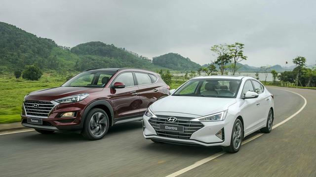 Ra mắt Hyundai Elantra 2019 giá từ 580 triệu, Tucson 2019 giá từ 799 chiếc điện thoại Việt Nam