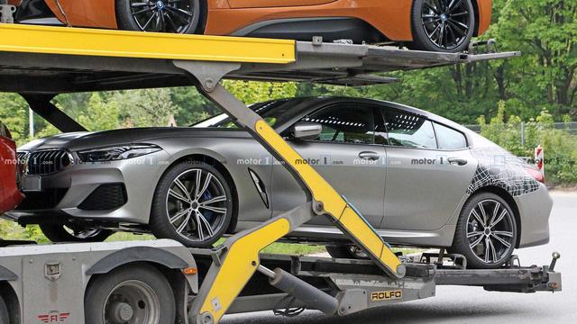 BMW 8-Series bản 4 cửa lộ diện hoàn toàn - đẹp không góc chết - Ảnh 4.
