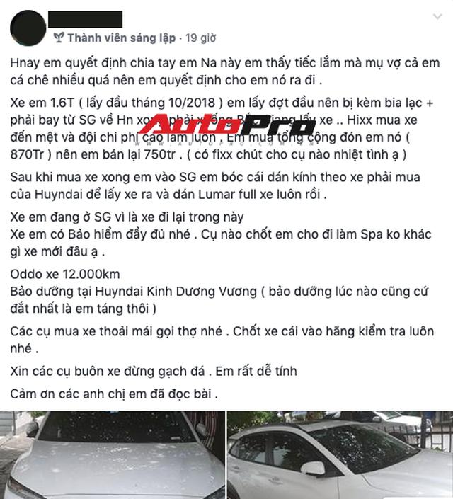Vợ mang bầu chê xe ồn, soái ca Sài Gòn bán Hyundai Kona mới mua để lên đời Mercedes-Benz GLA - Ảnh 1.