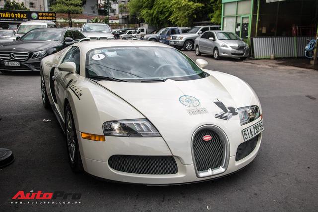 Tóm gọn Bugatti Veyron 16.4 của ông Đặng Lê Nguyên Vũ đi đăng kiểm - Ảnh 2.