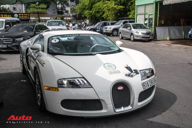 Tóm gọn Bugatti Veyron 16.4 của ông Đặng Lê Nguyên Vũ đi đăng kiểm - Ảnh 3.
