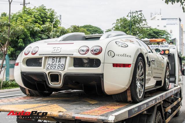Tóm gọn Bugatti Veyron 16.4 của ông Đặng Lê Nguyên Vũ đi đăng kiểm - Ảnh 12.