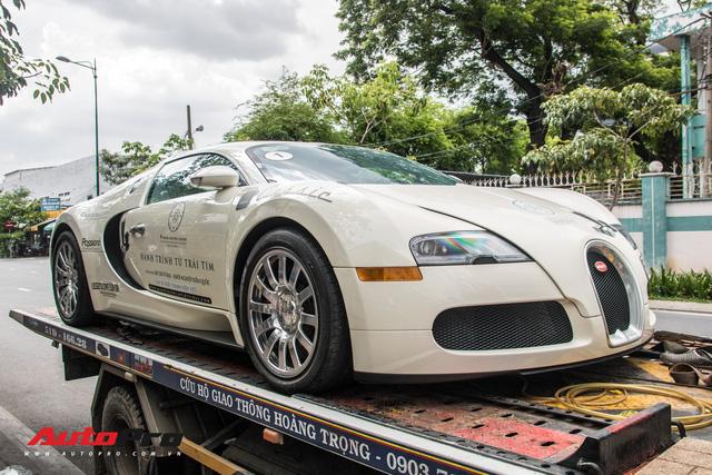 Tóm gọn Bugatti Veyron 16.4 của ông Đặng Lê Nguyên Vũ đi đăng kiểm - Ảnh 11.
