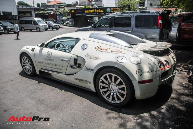 Tóm gọn Bugatti Veyron 16.4 của ông Đặng Lê Nguyên Vũ đi đăng kiểm - Ảnh 8.