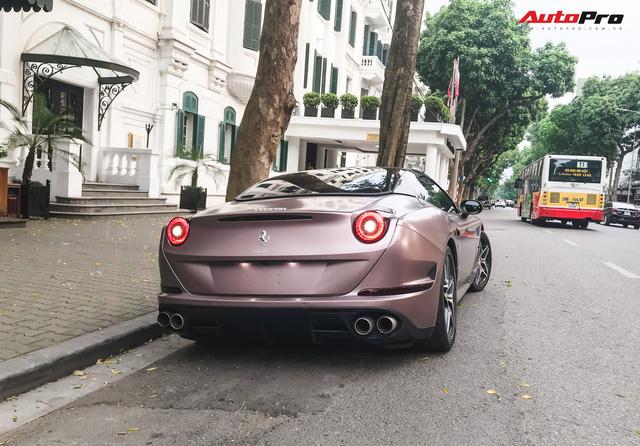Dân chơi đồng hồ khét tiếng Hà Nội mạnh tay chi tiền sơn lại Ferrari California T màu độc - Ảnh 8.