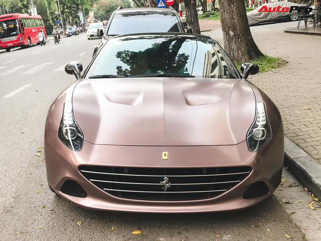 Dân chơi đồng hồ khét tiếng Hà Nội mạnh tay chi tiền sơn lại Ferrari California T màu độc - Ảnh 2.