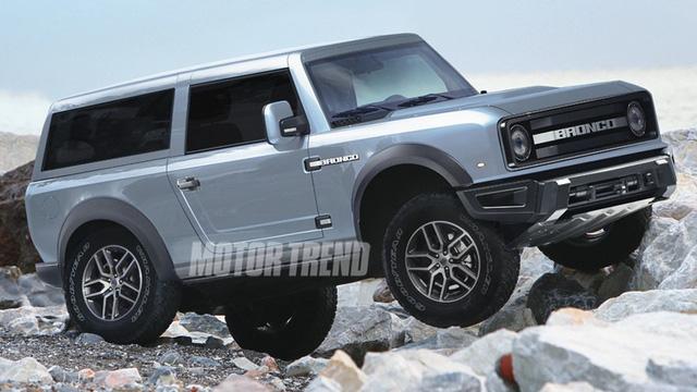 6 điểm cần biết về Ford Bronco ra mắt trong năm sau: Khung Ranger, dáng vuông như G-Class - Ảnh 2.
