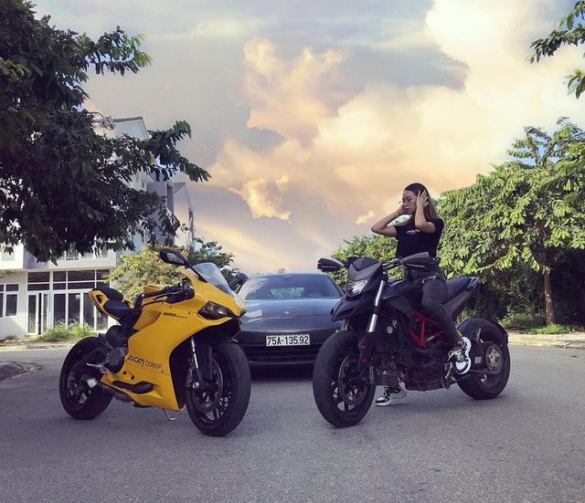 Nữ biker đình đám xứ Huế tậu Chevrolet Corvette C7 Stingray Convertible độc nhất Việt Nam - Ảnh 4.