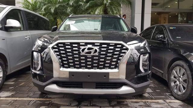 Hyundai Palisade đầu tiên về Việt Nam đấu Ford Explorer - Ảnh 3.