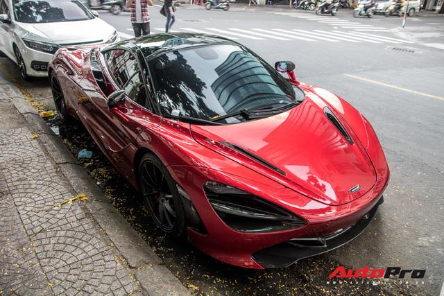 Trở lại Sài Gòn từ quê chủ nhân, hàng hiếm McLaren 720S hứa hẹn tham gia các sự kiện đình đám của giới đại gia - Ảnh 3.