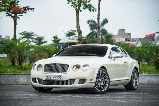 Đeo biển 3333 nhưng chiếc Bentley này có giá bán lại chỉ hơn 2 tỷ đồng - Ảnh 1.